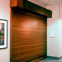 Woodfold Roll Up Doors